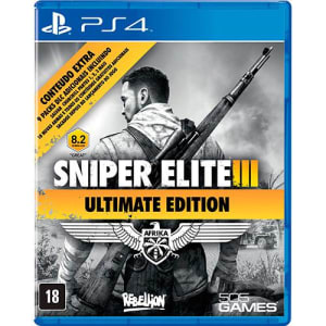 Game Sniper Elite 3: Ultimate Edition - PS4 (Cód. 122336741)