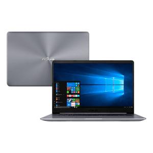 "Notebook Asus Intel Core i5 8GB 1TB Windows 10 Home Tela 15.6"" X510UA-BR484T Cinza"