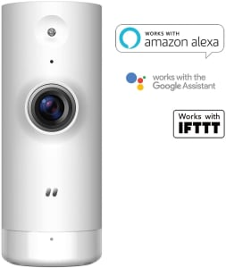 D-link DCS-8000LH - Mini Câmera Wi-Fi HD 720p, Compatível com Alexa, Branca