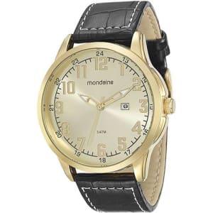 Relógio Masculino Mondaine Analógico com Calendário Clássico 76516gpmvdh2