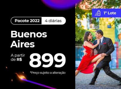 Buenos Aires - 2022 Aéreo + Hotel Com Café da Manhã (1º Lote)