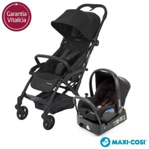 Carrinho de Bebê Travel System Laika Preto - Maxi-Cosi
