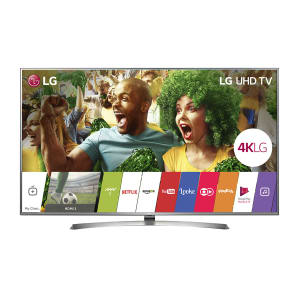 "Smart TV LED 70"" LG 70UJ6585 Ultra HD 4K 4 HDMI 2 USB Prata com Conversor Digital Integrado"