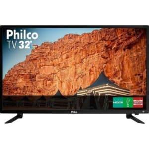TV Philco 32 Polegadas Led HD PTV32G50D Preta