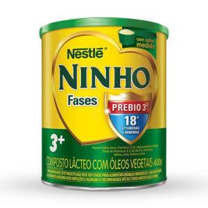 Leite em Pó Ninho Prebio 3+ Lata - 400g