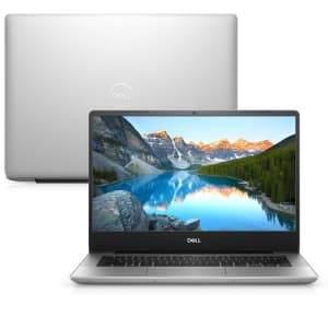 "Notebook Dell Inspiron i14-5480-M30S 8ª Geração Intel Core i7 8GB 256GB SSD Placa de Vídeo FHD 14"" Windows 10 Prata McAf"