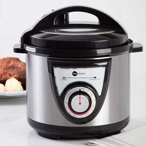 Oferta ➤ Panela de Pressão Elétrica Fun Kitchen Preta  4L 220V   . Veja essa promoção
