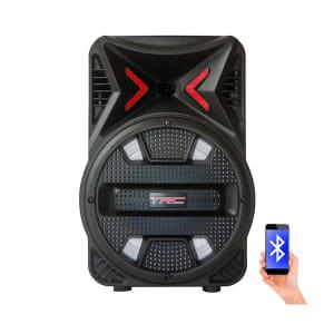 Caixa de Som Amplificada TRC 5511 Bluetooth USB Entrada para microfone Bateria interna 110W