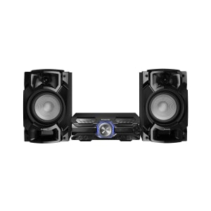 Mini System Panasonic 580W CD, Bluetooth, USB SC-AKX520LBK Bivolt Preto