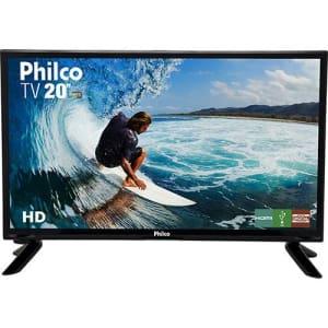"TV LED 20"" Philco PH20M91D HD Conversor Digital Integrado 1 HDMI 1 USB"