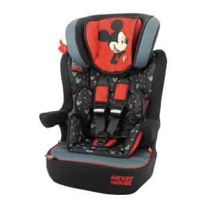 Cadeirinha para Auto Disney I-Max Mickey Mouse Vermelha Suporta de 9 a 36Kg
