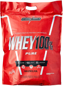Whey 100% Pure Pouch 1.8Kg Baunilha - Integralmedica 1.8Kg