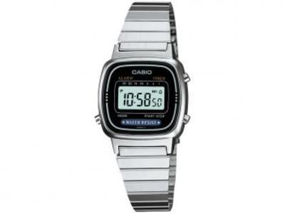 Relógio Feminino Casio Digital Resistente à Água - Cronômetro Vintage LA670WD-1DF - Magazine Ofertaesperta