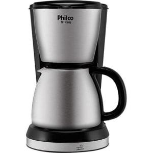 Cafeteira Elétrica Philco PH14TEMP 700ml Metal Preto e Inox