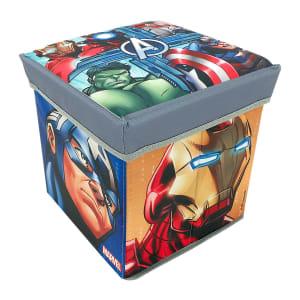 Caixa Organizadora com Tampa em MDF 2 Peças Colorido Zippy Toys 6172