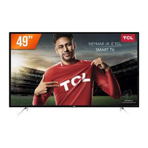 Smart TV LED 49'' Full HD Semp TCL L49S4900FS 3HDMI 2USB com Wifi e Conversor Digital Integrados