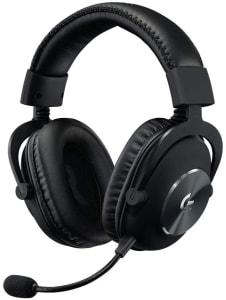 Headset Gamer Logitech G PRO com Design Confortável e Durável e Drivers PRO-G 50mm
