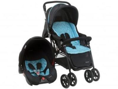 Carrinho de Bebê com Bebê Conforto Voyage - Travel System Status 0 a 15kg - Magazine Ofertaesperta
