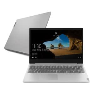 "Notebook Lenovo Ideapad S145 R5 12GB 1TB W10 15.6"" Prata"