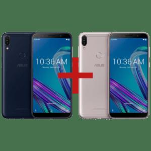 Zenfone Max Pro (M1) 3GB/32GB Preto + ZenFone Max Pro (M1) 3GB/32GB Prata