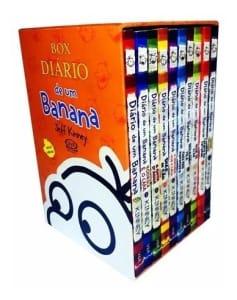 Livro Box - Diário De Um Banana - 10 Volumes