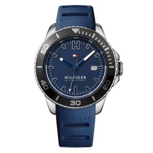 Relógio Tommy Hilfiger Masculino Borracha Azul - 1791263