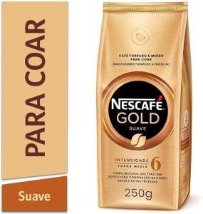[5 Unidades] Café Torrado e Moído Nescafé Gold Suave 250g
