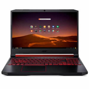 "Notebook Gamer Acer Aspire Nitro 5 i5-9300H 8GB RAM 1TB + 128GB SSD GTX 1650 4GB Tela 17,3"" Endless OS - AN517-51-55NT"