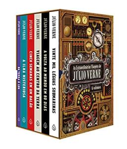 Confira ➤ Box de Livros as Extraordinárias Viagens de Júlio Verne (6 Volumes) – Júlio Verne ❤️ Preço em Promoção ou Cupom Promocional de Desconto da Oferta Pode Expirar No Site Oficial ⭐ Comprar Barato é Aqui!