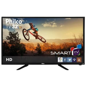 """TV LED 32"""" Philco PH32B51DSGW HD com Conversor Digital e Função Smart 2 HDMI 1 USB (Cód. 128526626)"""