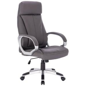Cadeira Presidente Dubai Cinza