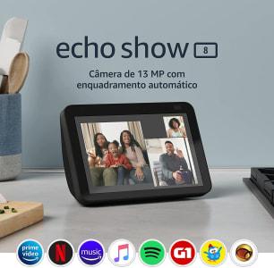 Confira ➤ Novo Echo Show 8 (2ª Geração, versão 2021): Smart Display HD de 8 com Alexa e câmera de 13 MP – Cor Preta ❤️ Preço em Promoção ou Cupom Promocional de Desconto da Oferta Pode Expirar No Site Oficial ⭐ Comprar Barato é Aqui!