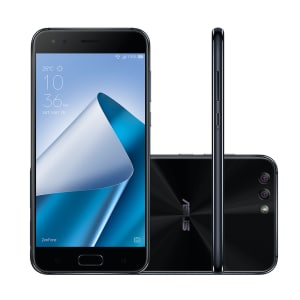 Oferta ➤ Smartphone Asus Zenfone 4 ZE554KL-1A122BR 128GB Black 4G Tela 5.5 Câmera 12MP Android 6.0   . Veja essa promoção