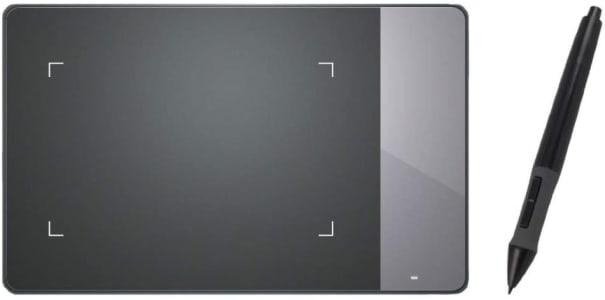 Mesa Digitalizadora Inspiroy Pen Tablet, Huion, 420, Tablets de Design Gráfico, Black