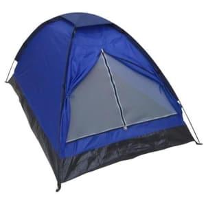 Barraca de Camping Para 2 Pessoas Importada em Poliéster - Azul