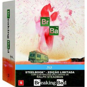 Blu-ray - Breaking Bad: A Coleção Completa - Edição de Colecionador em Steelbook