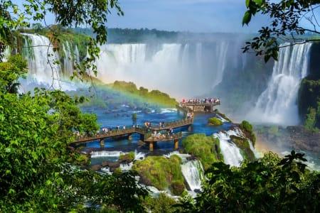 Pacote Foz do Iguaçu - 2020 - Aéreo de São Paulo - 4 diárias + Cataratas Brasileiras + Traslado + Café da Manhã