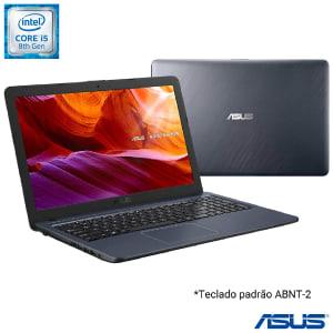 Confira ➤ Notebook Asus VivoBook, Intel Core i5 8250U, 8GB, 256GB SSD, Tela de 15,6, Cinza Escuro – X543UA-DM3457T ❤️ Preço em Promoção ou Cupom Promocional de Desconto da Oferta Pode Expirar No Site Oficial ⭐ Comprar Barato é Aqui!