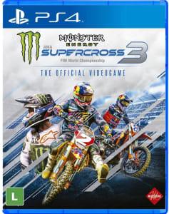 Jogo Monster Energy Supercross 3 - PS4