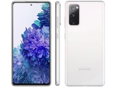 """Confira ➤ Smartphone Samsung Galaxy S20 FE 128GB Cloud White – 4G 6GB RAM Tela 6,5"""" Câm. Tripla + Selfie 32MP – Magazine ❤️ Preço em Promoção ou Cupom Promocional de Desconto da Oferta Pode Expirar No Site Oficial ⭐ Comprar Barato é Aqui!"""