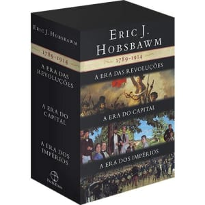 Box As Eras: A Era das Revoluções, A Era do Capital, A Era dos Impérios (3 Volumes)