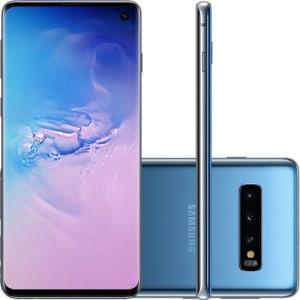 "Smartphone Samsung Galaxy S10 128GB Dual Chip 8GB RAM Tela 6.1"""