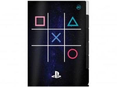 Pasta L de Plástico A4 Playstation DAC 2663 - 5 Divisórias - Magazine Ofertaesperta