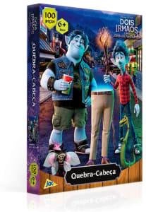 Quebra-Cabeça Dois Irmãos 100 Peças 2677 - Toyster Brinquedos