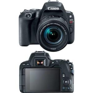 Câmera Fotográfica Eos Rebel Sl2 Ef-s 18-55mm Is Stm Br