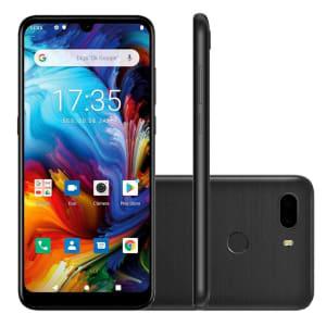 Smartphone Philco Hit Plus 64GB 12MP Tela 6 Preto + Capa Protetora - PCS02P