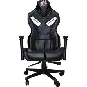 Cadeira Gamer Mymax Corinthians Giratória Preta