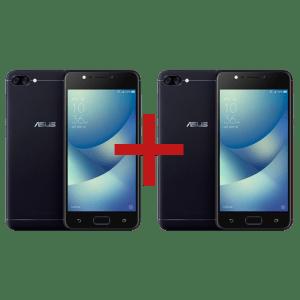 Zenfone Max (M1) 2GB/32GB Preto + Zenfone Max (M1) 2GB/32GB Preto