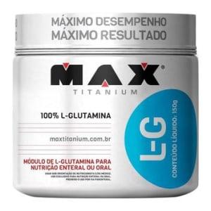 L- Glutamina 150 g - Max Titanium - Magazine Ofertaesperta