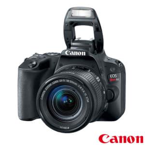 """Câmera Digital Canon EOS Rebel SL2 DSLR com 24,2 MP 3"""" Gravação em Full HD - N5SL2B"""